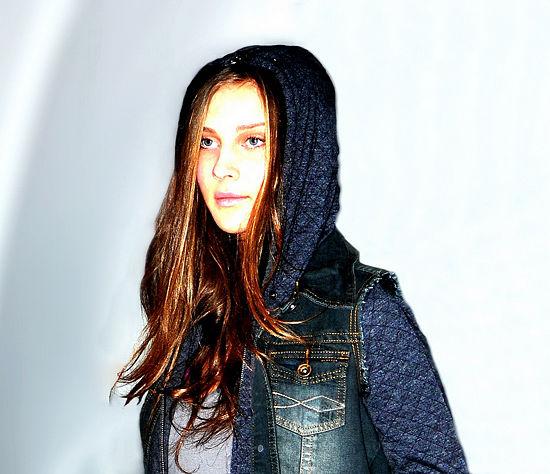 fotomodel model